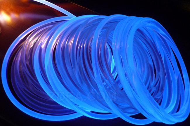 pmma side glow fiber optic